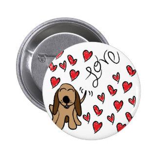 Amour de chien de chasse badge