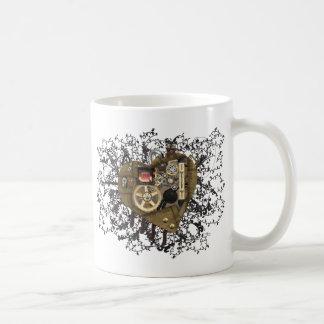 Amour de coeur de Steampunk Mug À Café