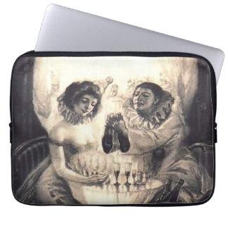 """Amour de crâne, illusion optique 13"""" douille d'ord trousse pour ordinateur portable"""