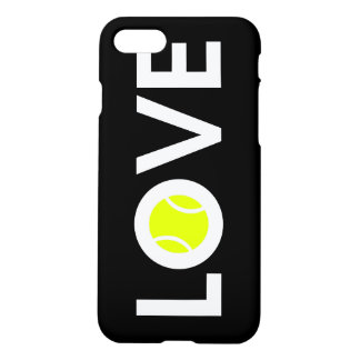 AMOUR de ~ de balle de tennis Coque iPhone 7