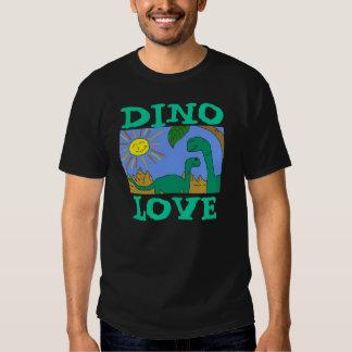 AMOUR de DINO - les DINOSAURES d'AMOUR d'I pique T-shirts