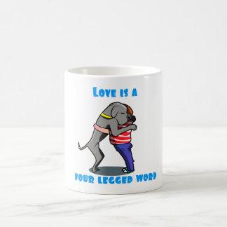 Amour de great dane mug