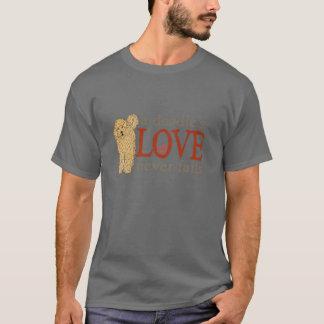 Amour de griffonnage pour des fans de GoldenDoodle T-shirt