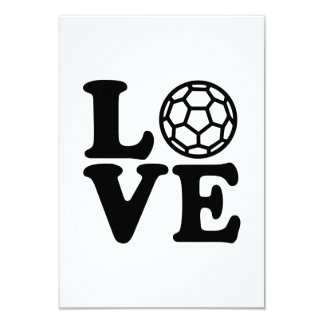 Amour de handball invitation