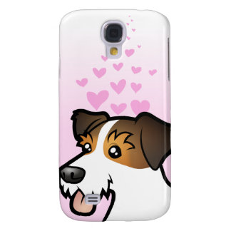 Amour de Jack Russell Terrier Coque Galaxy S4