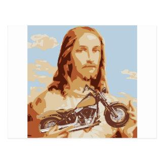 Amour de Jésus Harley Carte Postale