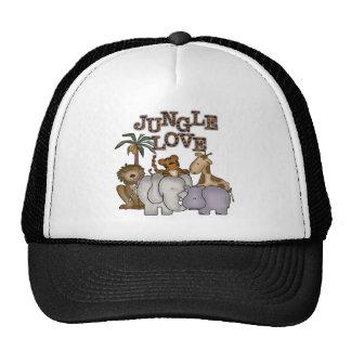 Amour de jungle casquettes de camionneur