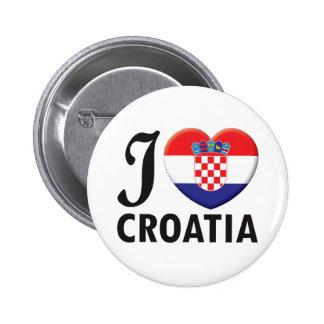 Amour de la Croatie Pin's