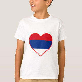 Amour de la Serbie T-shirt