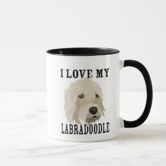 Amour de Labradoodle ! Tasse