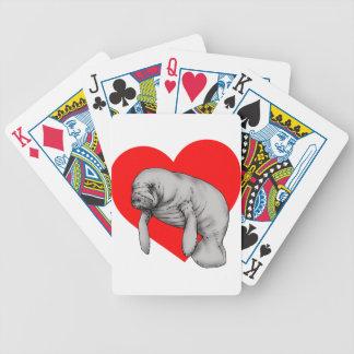 amour de lamantin cartes à jouer