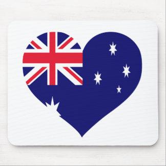 Amour de l'Australie Tapis De Souris