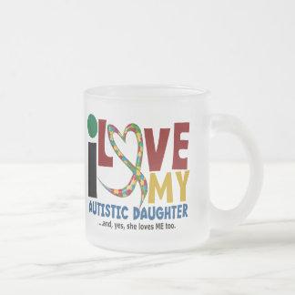 Amour de l'AUTISME I ma fille autiste 2 Tasse À Café