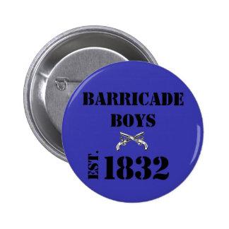 Amour de Les Misérables : Bouton de garçons de bar Badges Avec Agrafe