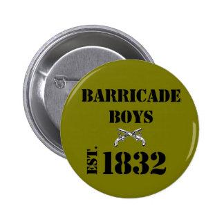 Amour de Les Misérables : Bouton de garçons de bar Badge Rond 5 Cm