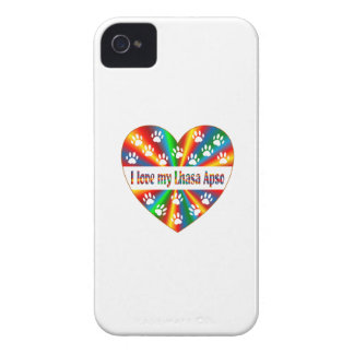 Amour de Lhasa Apso Coque iPhone 4 Case-Mate