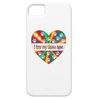 Amour de Lhasa Apso iPhone 5 Case