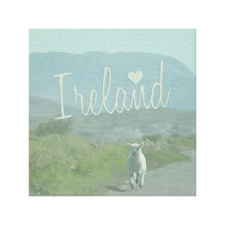 Amour de l'Irlande Toile