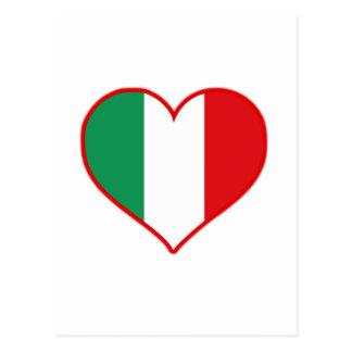 Amour de l'Italie Carte Postale
