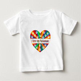 Amour de Malamute T-shirt Pour Bébé