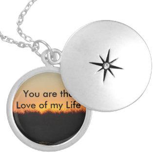 Amour de mon pendentif de la vie