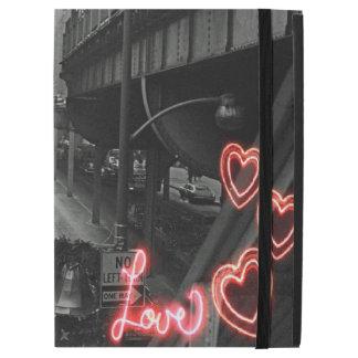 """Amour de néon de signe de restaurant de Blackhawk iPad Pro 12.9"""" Case"""