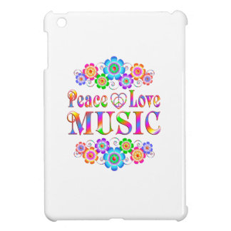 Amour de paix de musique coque pour iPad mini