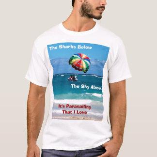 Amour de parachute ascensionnel t-shirt