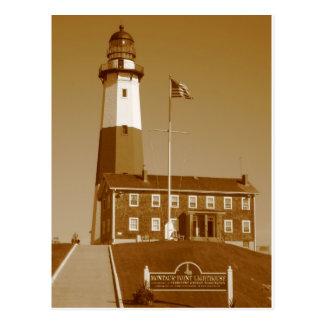 Amour de phare de Montauk Carte Postale