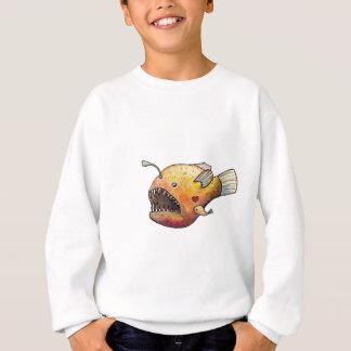 Amour de poissons de pêcheur à la ligne sweatshirt