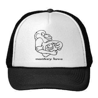 amour de singe casquettes
