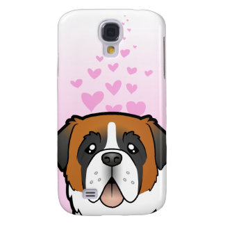 Amour de St Bernard Coque Galaxy S4