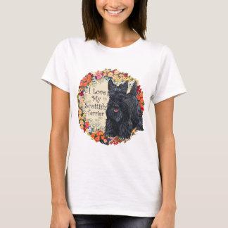 Amour de Terrier d'écossais T-shirt