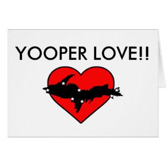 Amour de Yooper ! Cartes