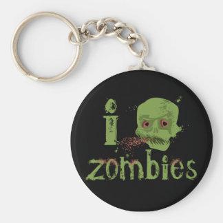 Amour de zombi porte-clés