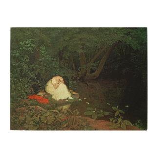Amour déçu, 1821 canevas en bois