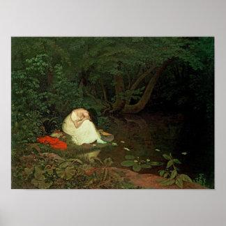 Amour déçu, 1821 poster