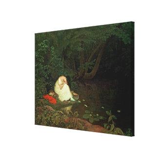 Amour déçu, 1821 toile tendue