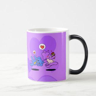 Amour d'éléphant tasse