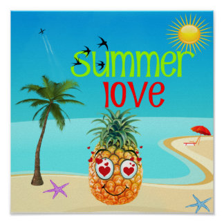 amour d'été poster