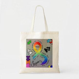 Amour d'étreinte sacs en toile
