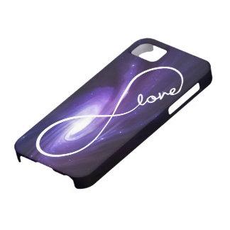 amour d'infini - galaxie étuis iPhone 5