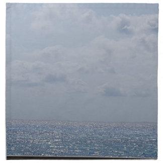 Amour d'océan serviettes en tissus