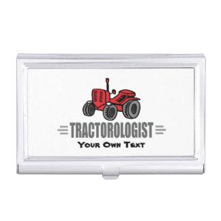 Amour drôle de tracteur boîtiers pour cartes de visite