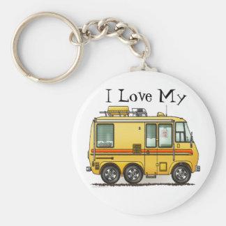 Amour du porte - clé I du camping-car de GMC rv Porte-clé Rond