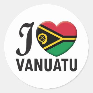 Amour du Vanuatu Autocollants