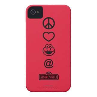 Amour Elmo de paix Coque iPhone 4