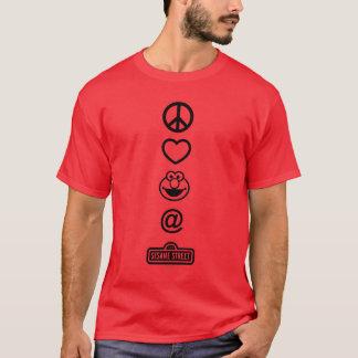 Amour Elmo de paix T-shirt