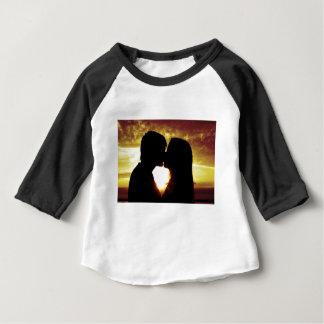 Amour et été t-shirt pour bébé