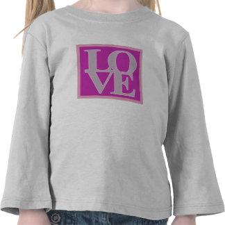 Amour et jour de Valentines T-shirt